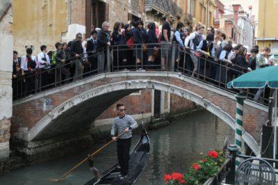 sur tourisme venise avec gondole
