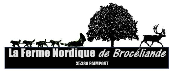 logo ferme nordique brocéliande