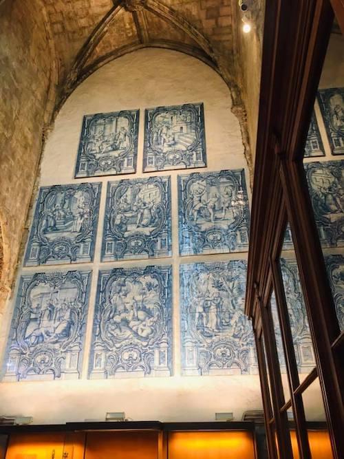 azuljos musée couvent des carmes