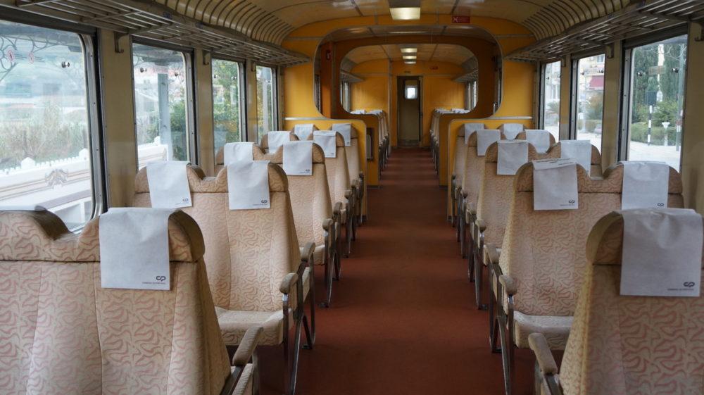 train de Pinaho à Pocinho