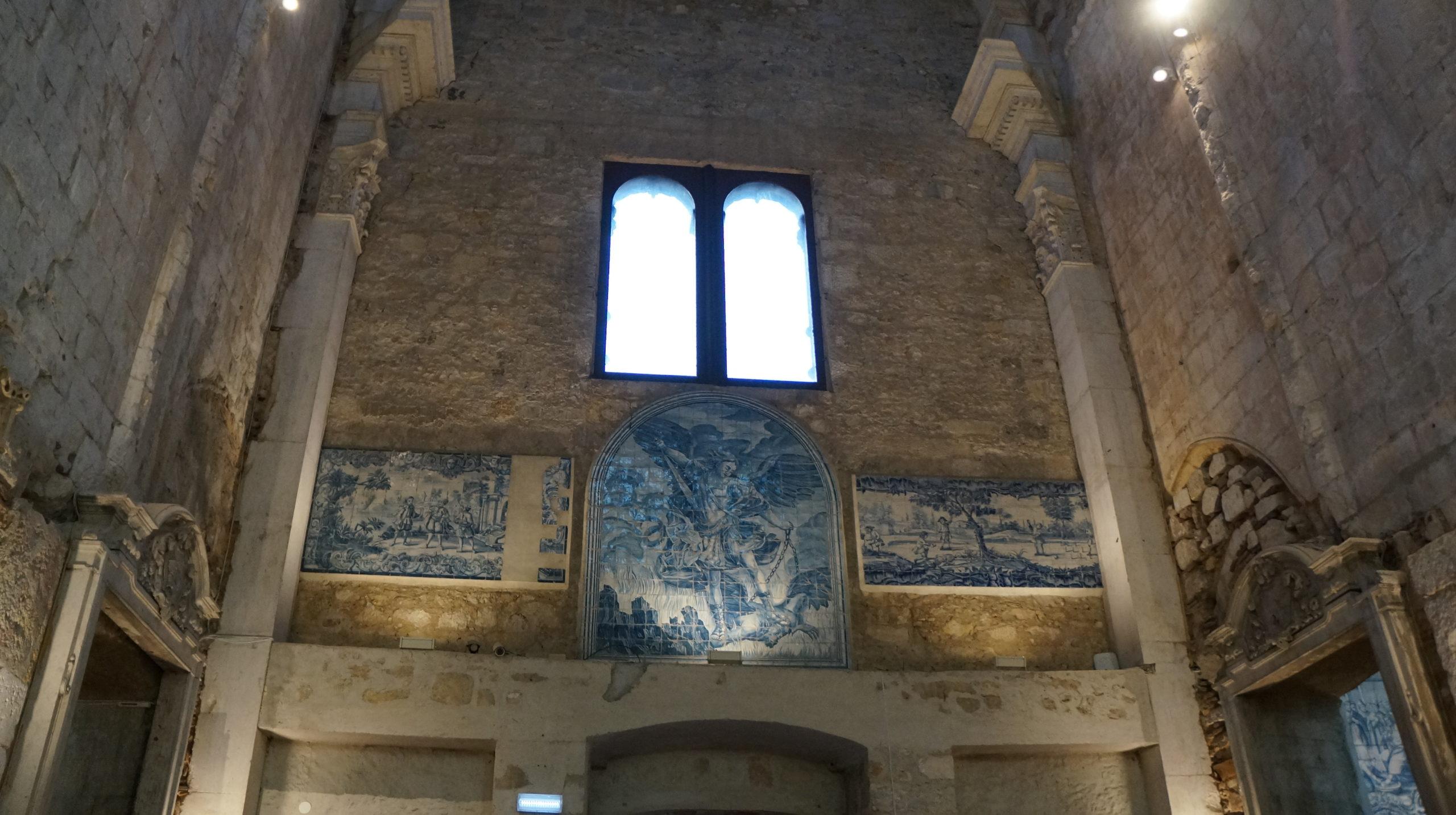 mur église avec azulejos