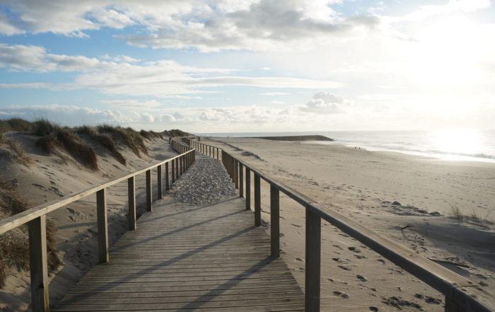 chemin plage costa nova