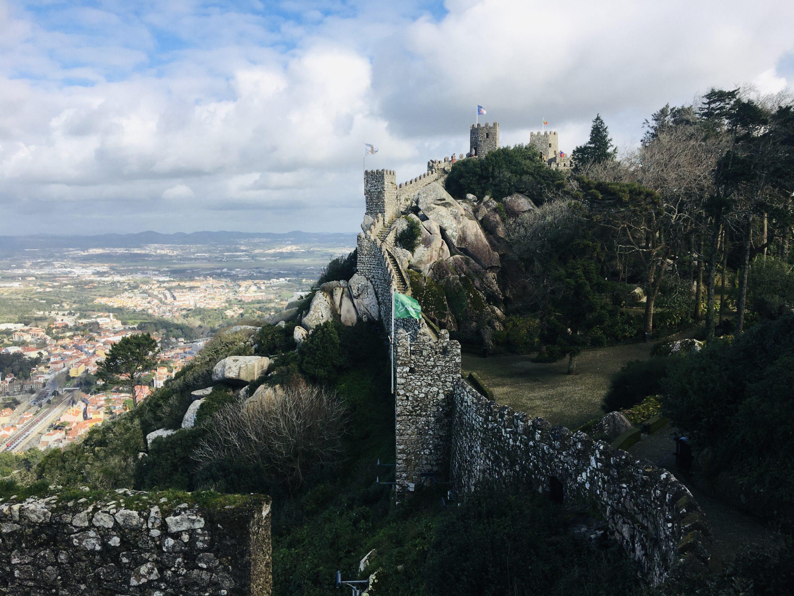 remparts chateau des maures