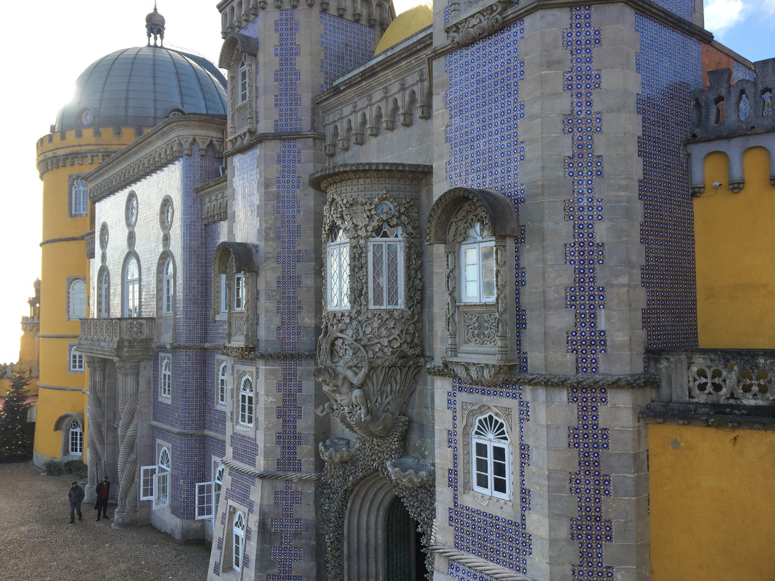 facade azulejos palais pena
