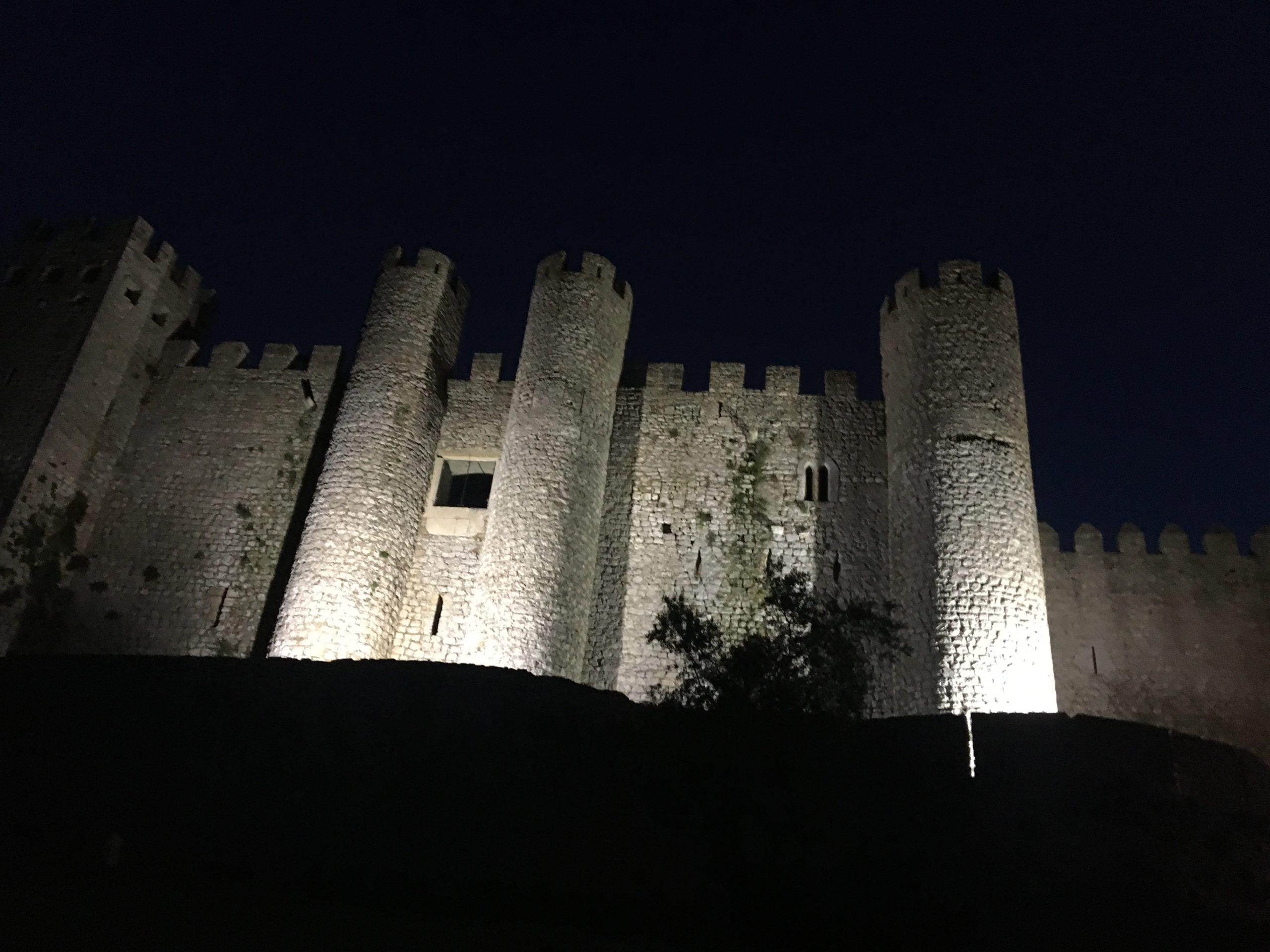 chateau obidos de nuit