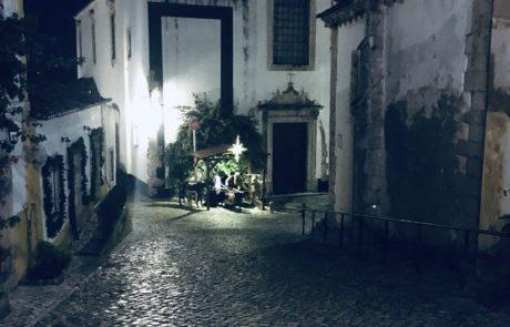eglise obidos de nuit