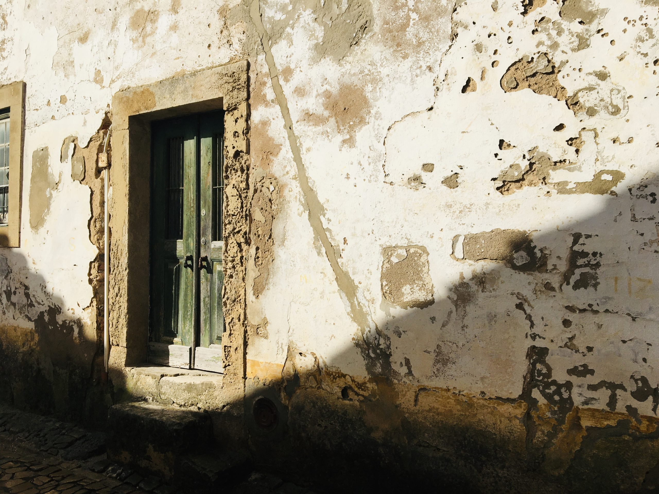 vieille porte dans son jus