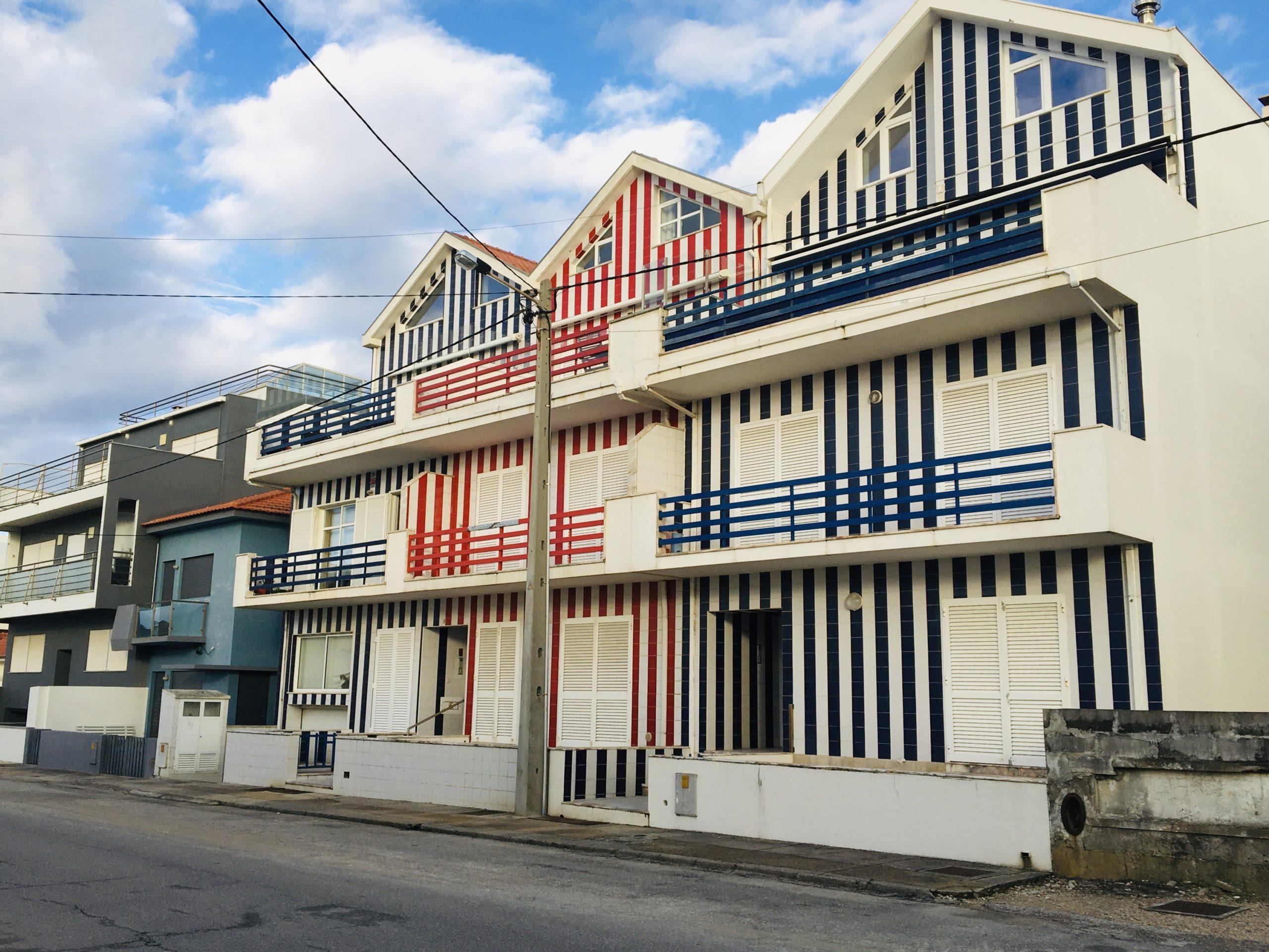 maisons rayées Costa Nova