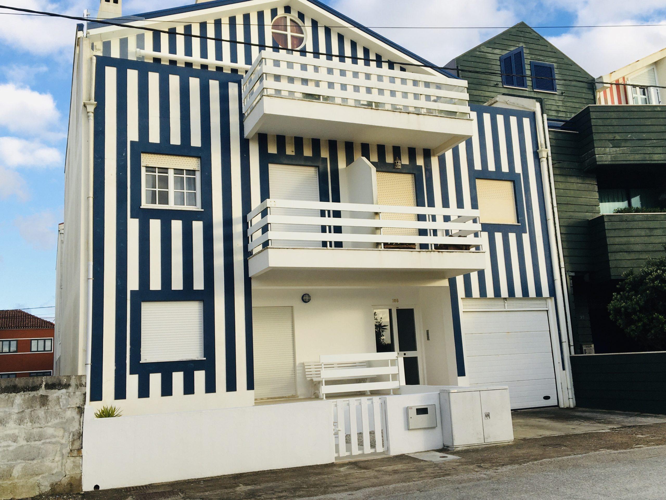maison rayée costa nova