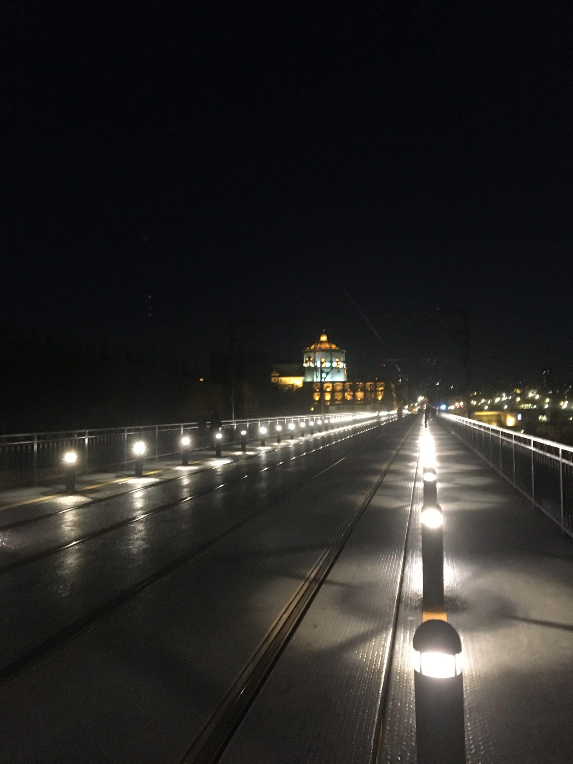 pont Luis de nuit